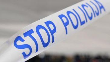 policija traka mjesto nesreće