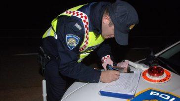 policija kontrola promet