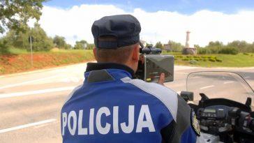 policija mjerenje brzine akcija