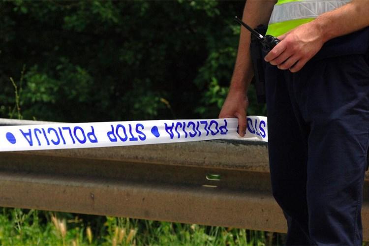 policija traka prometna nesreća