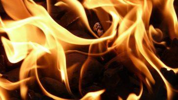 požar vatra ilustracija