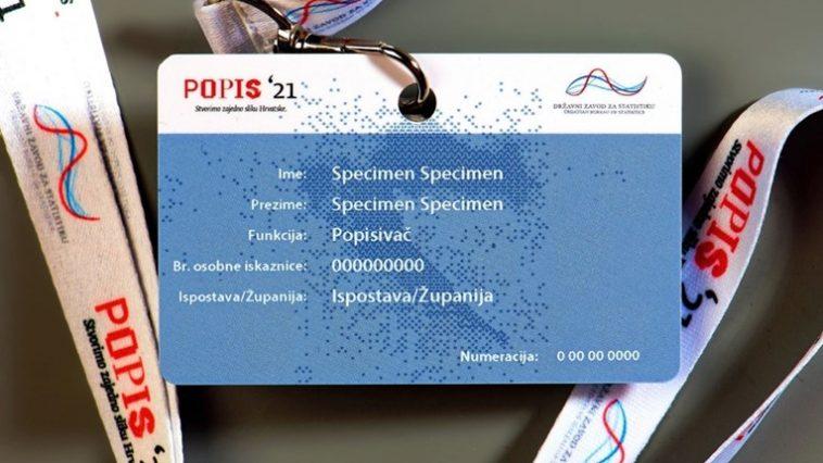 iskaznica popis stanovništva 2021