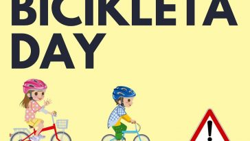 PRVI BIČIKLETA DAY FUNTANA za djecu i odrasle plakat manifestacije