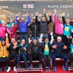 organizacijski tim volonteri na triatlon poreč 2021