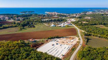 nogometni kampus gradilište žatika grad poreč