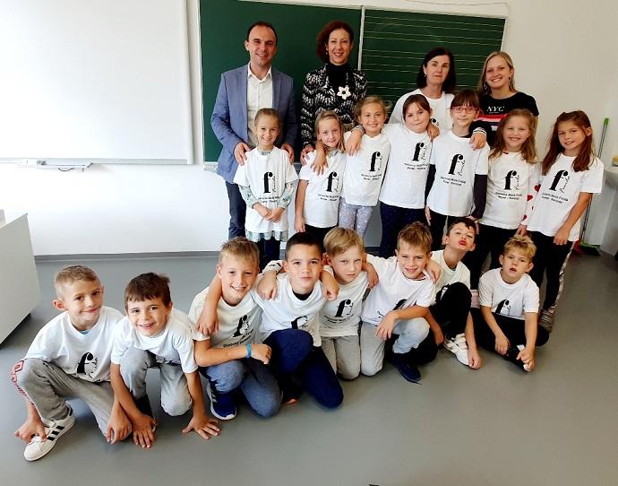 Osnovna škola Finida prvašići