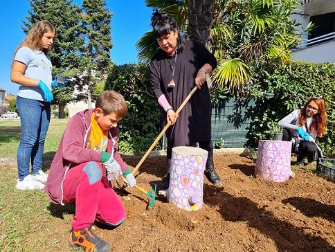 bioistra društvo naša djeca poreč sadnja ružmarina