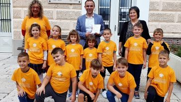 Talijanska osnovna škola Bernardo PArentin poreč prvašići