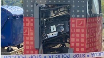 eksplozija bankomata u tinjanu Foto Mario Anthony Jakus za Istra Terra Magicu