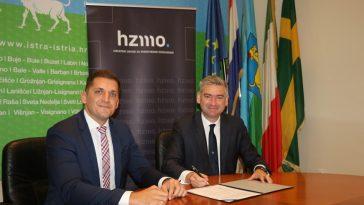 Boris Miletić i čelnik HZMO ivan serdar