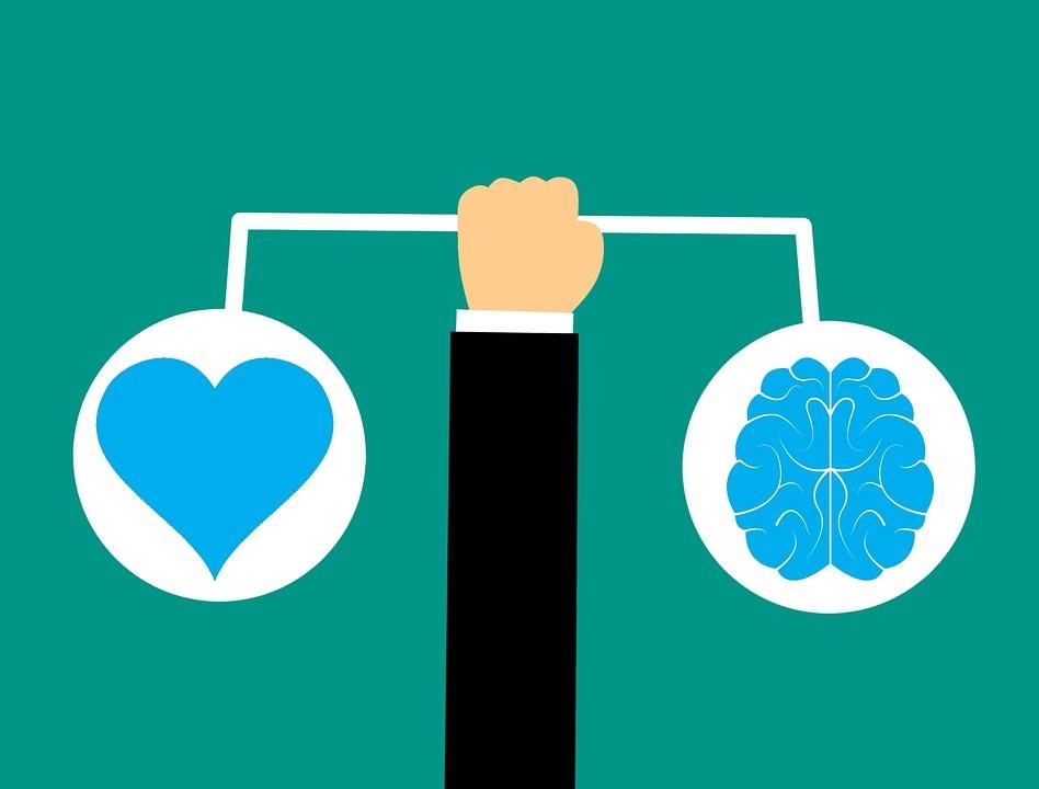 mozak emocionalna inteligencija ilustracija
