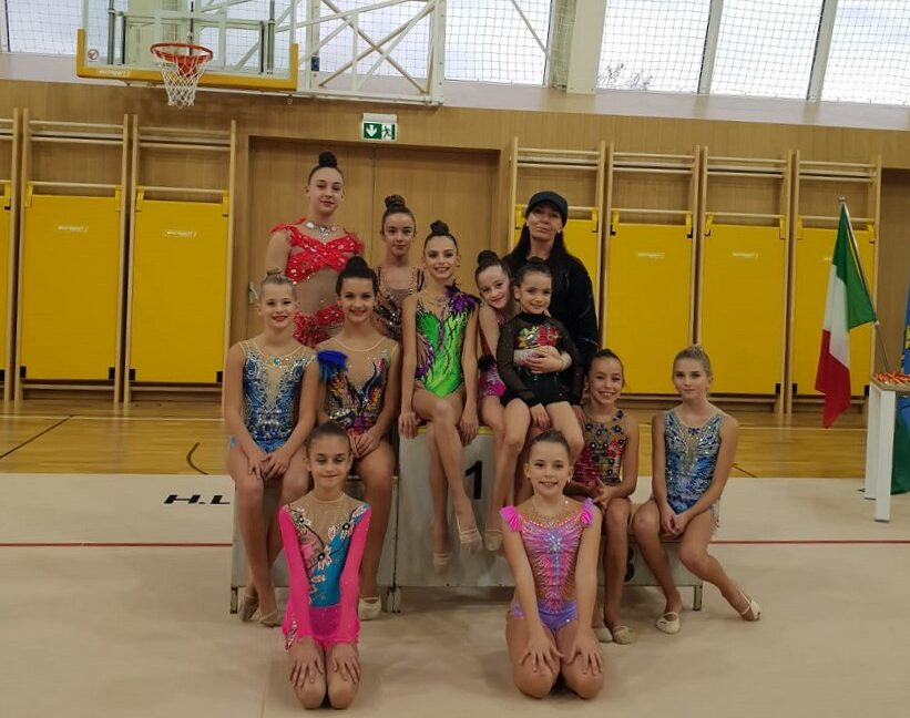 gimnastičarke klub poreč natjecanje poreč