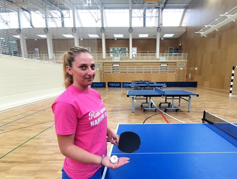 Martina Rioža na treningu u Vrsaru - Foto Tanja Kocijančić