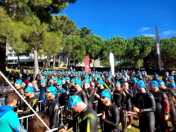 velik broj sudionka triatlon 5150 plava laguna poreč
