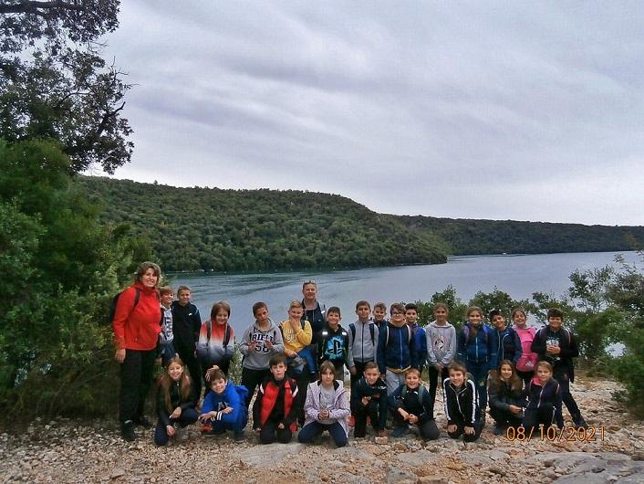 učenici osnovna škola vladimira nazora vrsar šetnja šuma kontija