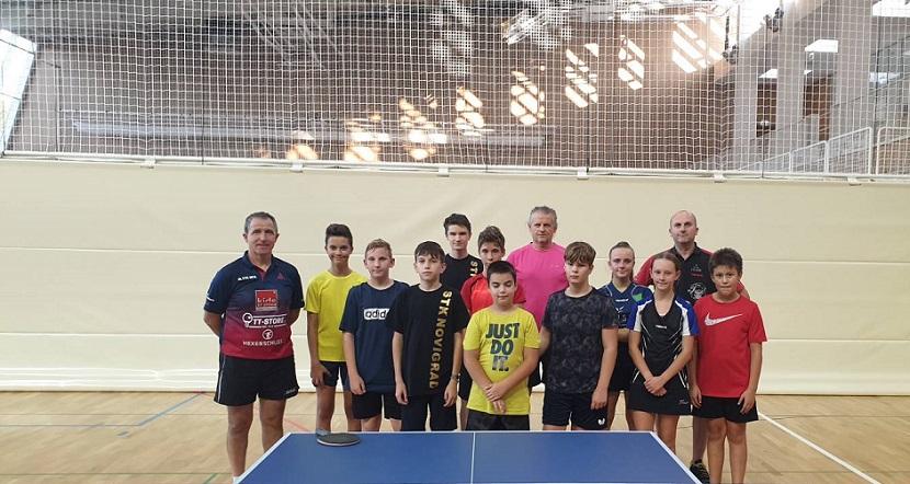 Stolni tenis Vrsar kamp treninzi